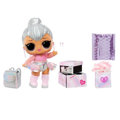 "L.O.L. Surprise! Big B.B. (Big Baby) Kitty Queen – 11"" Large Doll"