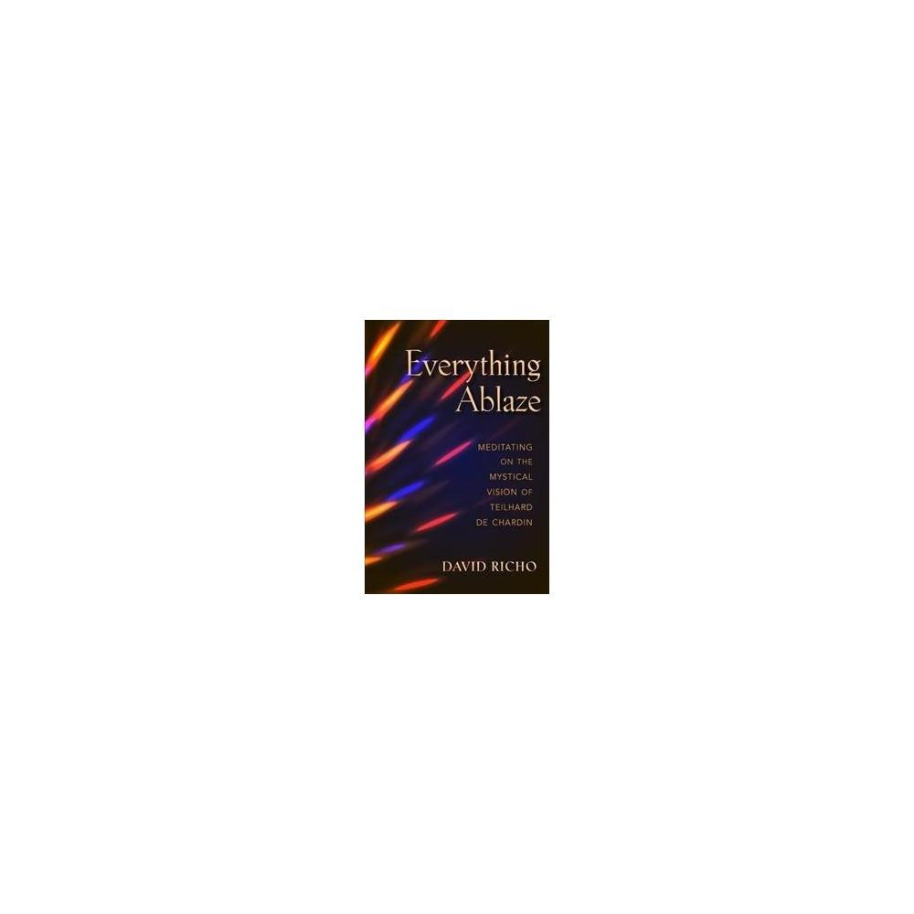 Everything Ablaze : Meditating on the Mystical Vision of Teilhard De Chardin (Paperback) (David Richo)