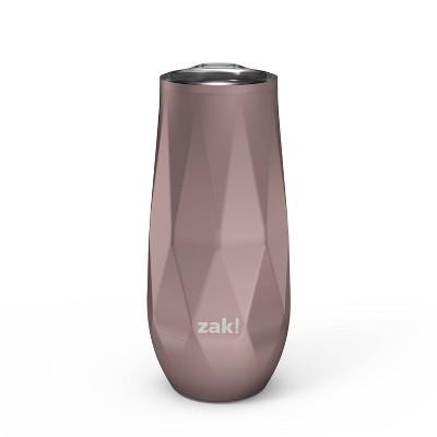 Zak Designs 9oz Fractal Double Wall Stainless Steel Flute Tumbler