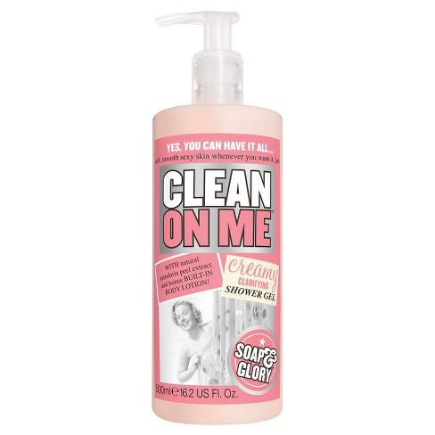 Soap Glory Clean On Me Creamy Clarifying Shower Gel 162oz Target