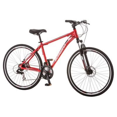 Schwinn Men's GTX-2 28  Dual Sport Hybrid Bike - Red