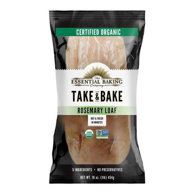 The Essential Baking Company Take & Bake Rosemary Bread - 16oz