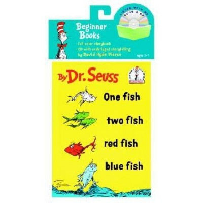 One Fish, Two Fish, Red Fish, Blue Fish Book & CD - (Book and CD) (Mixed Media Product)