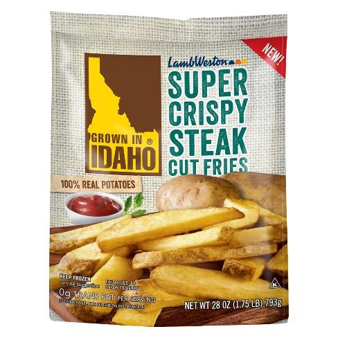 Grown In Idaho Super Crispy Frozen Steak Cut Fries - 28oz - image 1 of 1