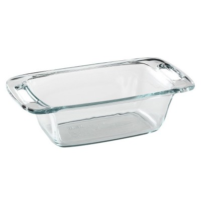 Pyrex 1.5QT Easy Grab Loaf Dish Clear