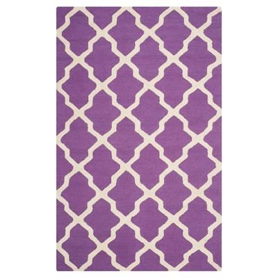 Maison Textured Rug - Purple / Ivory (5'X8') - Safavieh
