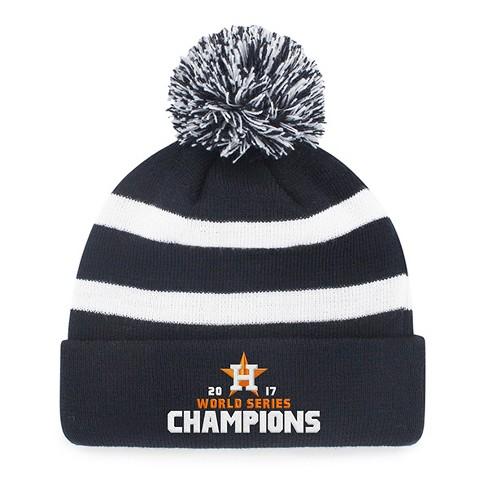 Houston Astros Fan Favorite World Series Champions Breakaway Knit Beanie  with Pom f367c7ab9f0