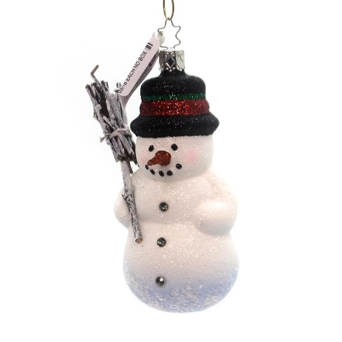 Inge Glas Winter's Arrival Snowman Holiday - image 1 of 2