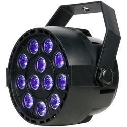 Eliminator Lighting Mini PAR UV LED Black Light Black