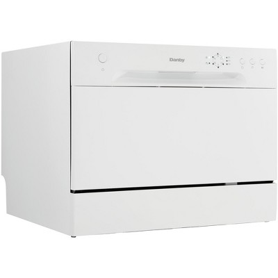 Danby 6 Place Setting Countertop Dishwasher In White Target