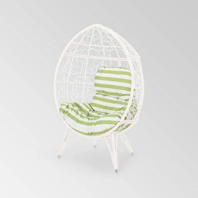 Gianni Wicker Teardrop Chair - Christopher Knight Home