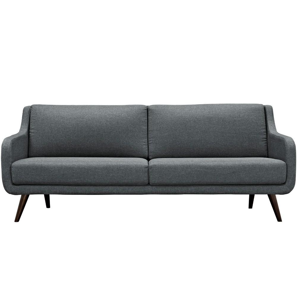 Verve Upholstered Sofa Gray - Modway