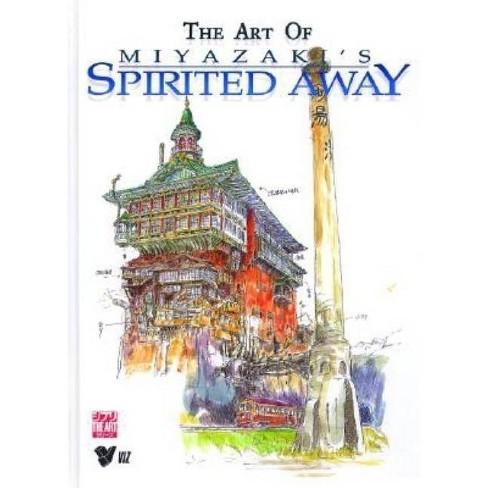 The Art of Miyazaki's Spirited Away - by  Hayao Miyazaki (Hardcover) - image 1 of 1
