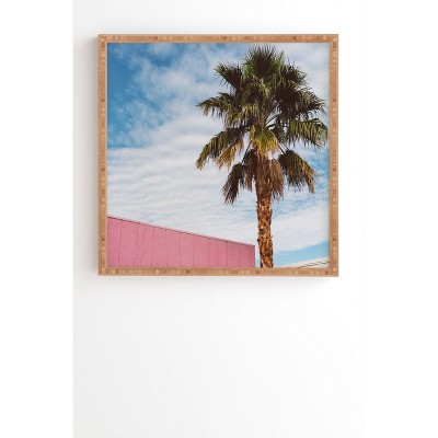 """12"""" x 12"""" Bethany Young Palm Springs Vibes Framed Wall Art - Deny Designs"""