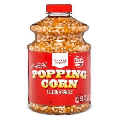 All Natural Popping Corn Yellow Kernels -Market Pantry 30oz - Market Pantry™
