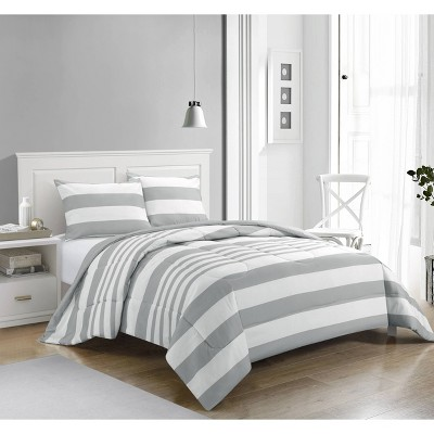 Rugby Stripe Comforter Set - Casa Couture