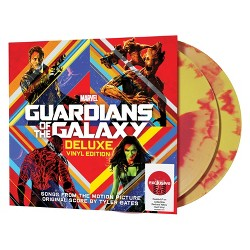 Various Artists – Guardians of the Galaxy (Vinyl) (Target Exclusive Red and Yellow Swirl)