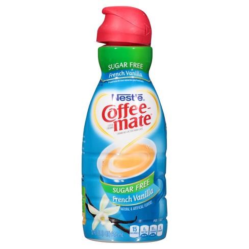 Coffee Mate Sugar Free French Vanilla Creamer