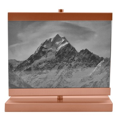 5 x7  Spinner Aluminium Frame Rose Gold - Threshold™