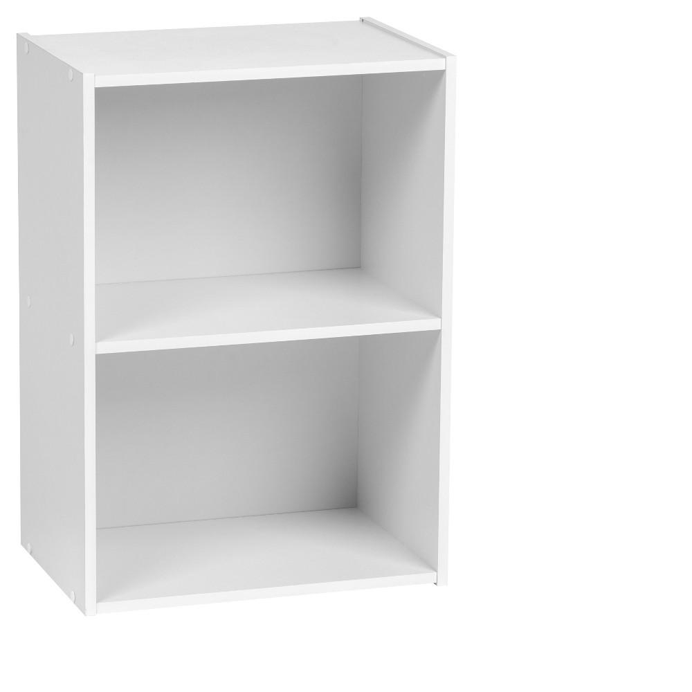 Image of IRIS 2-Tier Storage Shelf, White
