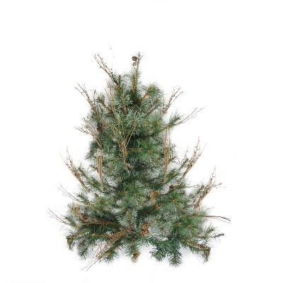 Northlight 2' Unlit Artificial Christmas Tree Country Mixed Pine