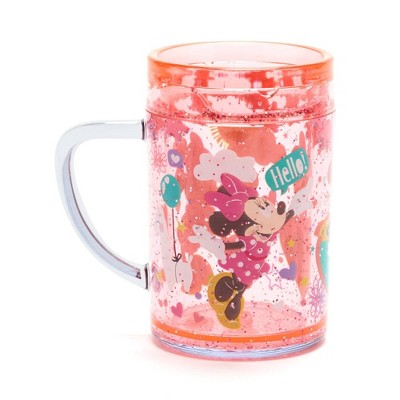 Disney Minnie Mouse 7.5oz Plastic Open Cup Pink - Disney Store