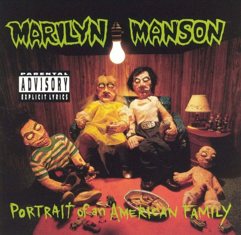 Marilyn manson - Portrait of an american family [Explicit Lyrics] (CD) - image 1 of 1