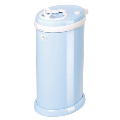 Ubbi Steel Diaper Pail - Light Blue