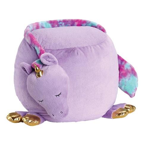 Remarkable Unicorn Bestie Bean Bag Purple Soft Landing Machost Co Dining Chair Design Ideas Machostcouk