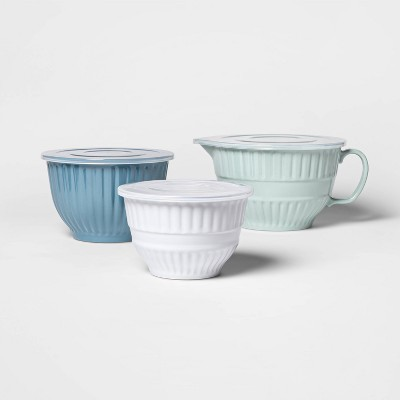 Cravings by Chrissy Teigen 6pc Mixing Bowl Set with Lids