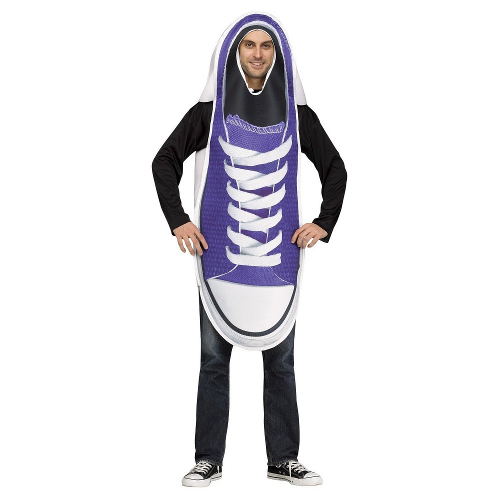 Men's Sneakers Adult Costume - One Size, Multi-Colored