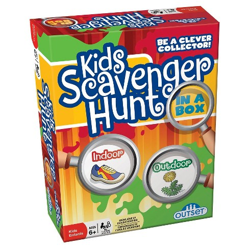 Outset Media Kids Scavenger Hunt Game - image 1 of 1