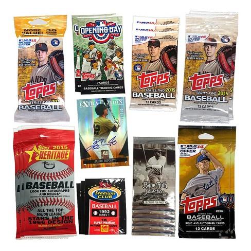 Mlb Variety Pack Baseballtrading Cards Box 20pk