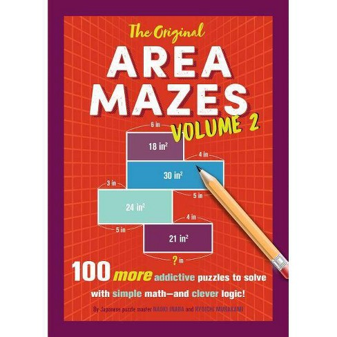 The Original Area Mazes, Volume 2 - by  Naoki Inaba & Ryoichi Murakami (Paperback) - image 1 of 1