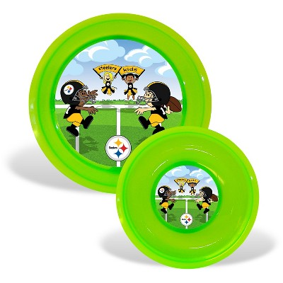 Pittsburgh Steelers Baby Fanatic Plate & Bowl Set