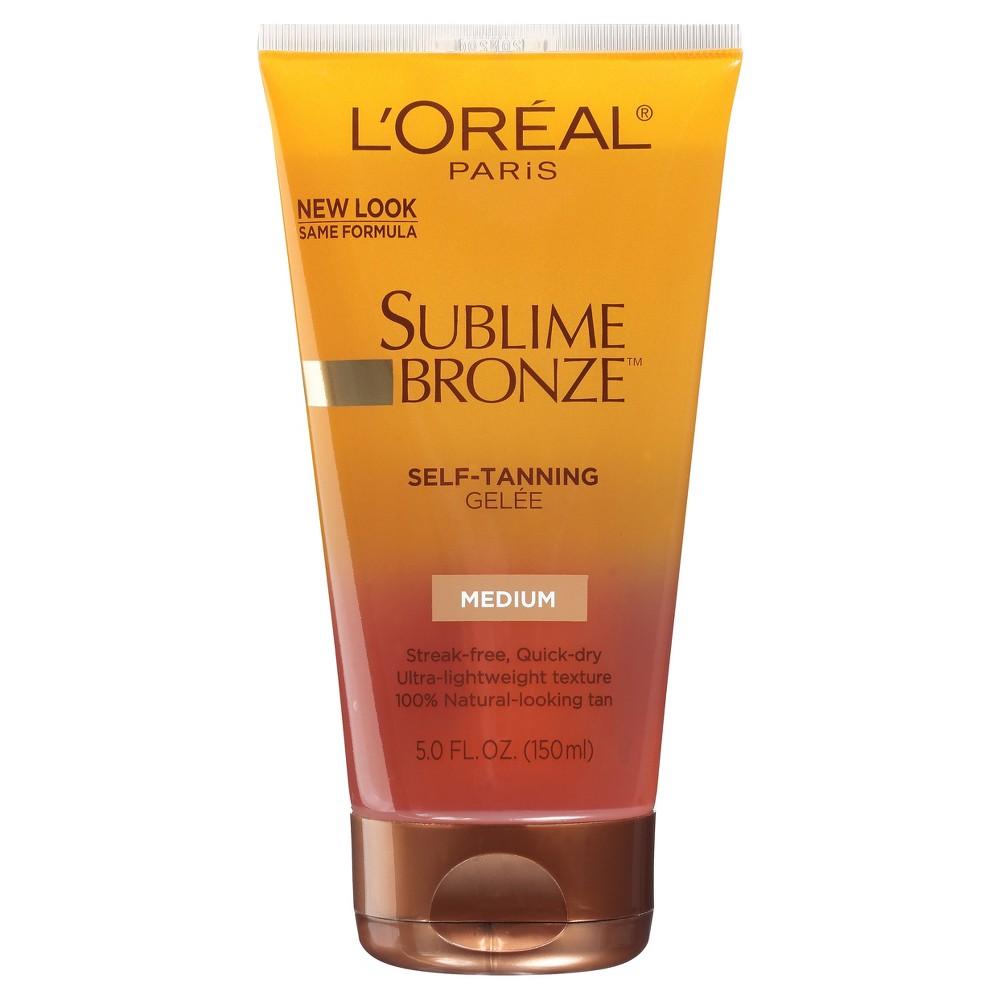 L'Oreal Paris Sublime Bronze Self-Tanning Gelee Medium Natural Tan 5 fl oz