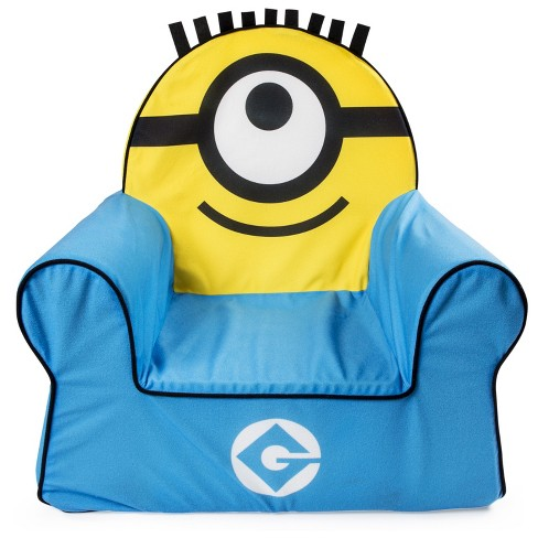 Marshmallow Furniture Children's Foam Comfy Chair Despicable Me Minions by Spin Master - image 1 of 2