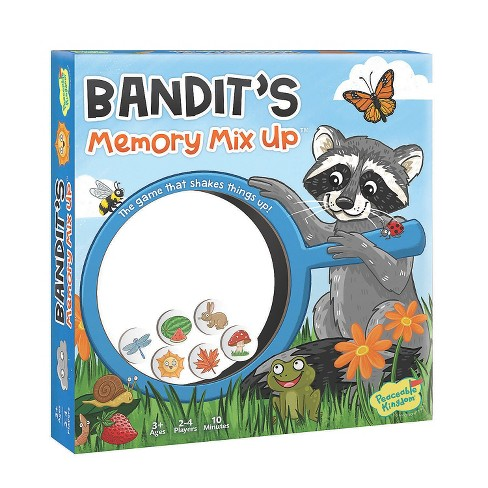 MindWare Bandit'S Memory Mix Up - Early Learning - image 1 of 2