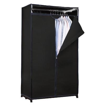 """Simplify 36"""" Wide Portable Closet Black"""