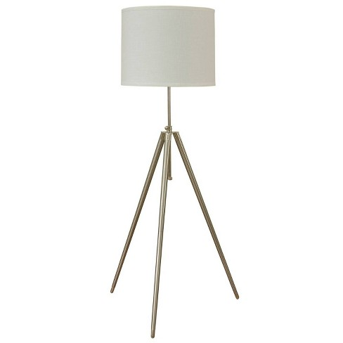 Floor Lamp Steel (Includes Light Bulb) - StyleCraft - image 1 of 1