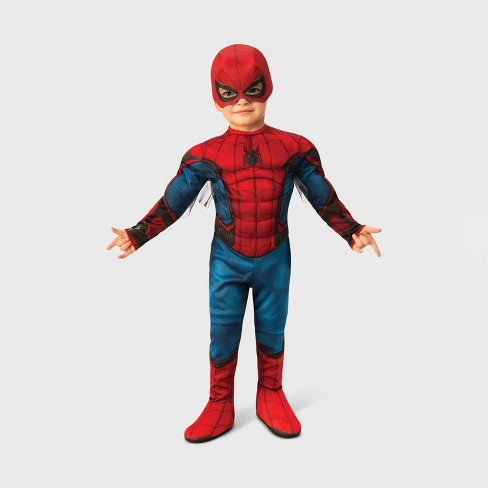 Toddler Boys' Marvel Spider-Man Muscle Halloween Costume - image 1 of 1