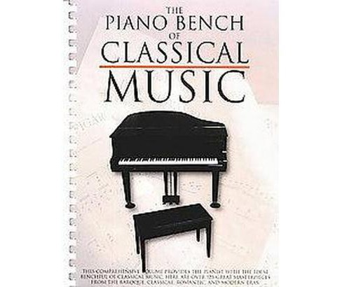 Piano Bench of Classical Music (Paperback) - image 1 of 1