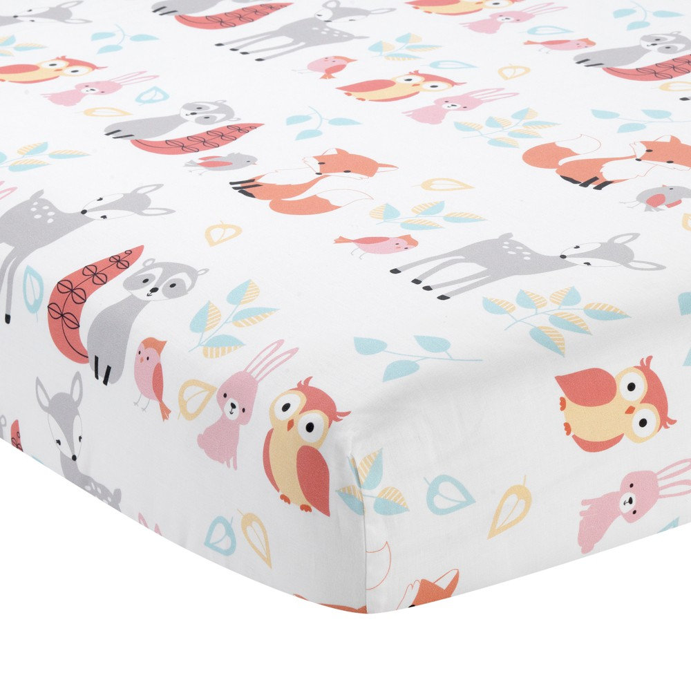 Image of Little Woodland Fitted Crib Sheet