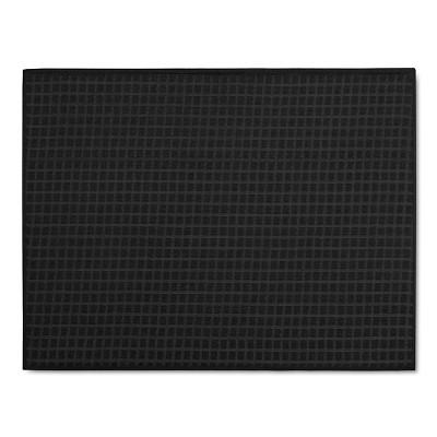 Black&nbspCheck&nbspKitchen Drying Mat&nbsp - Room Essentials™