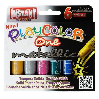 Paint Sticks Metallic 6ct - Playcolor