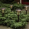 6pk Outdoor LED Pathway Lights Round Filament Bronze - Threshold™ - image 2 of 3