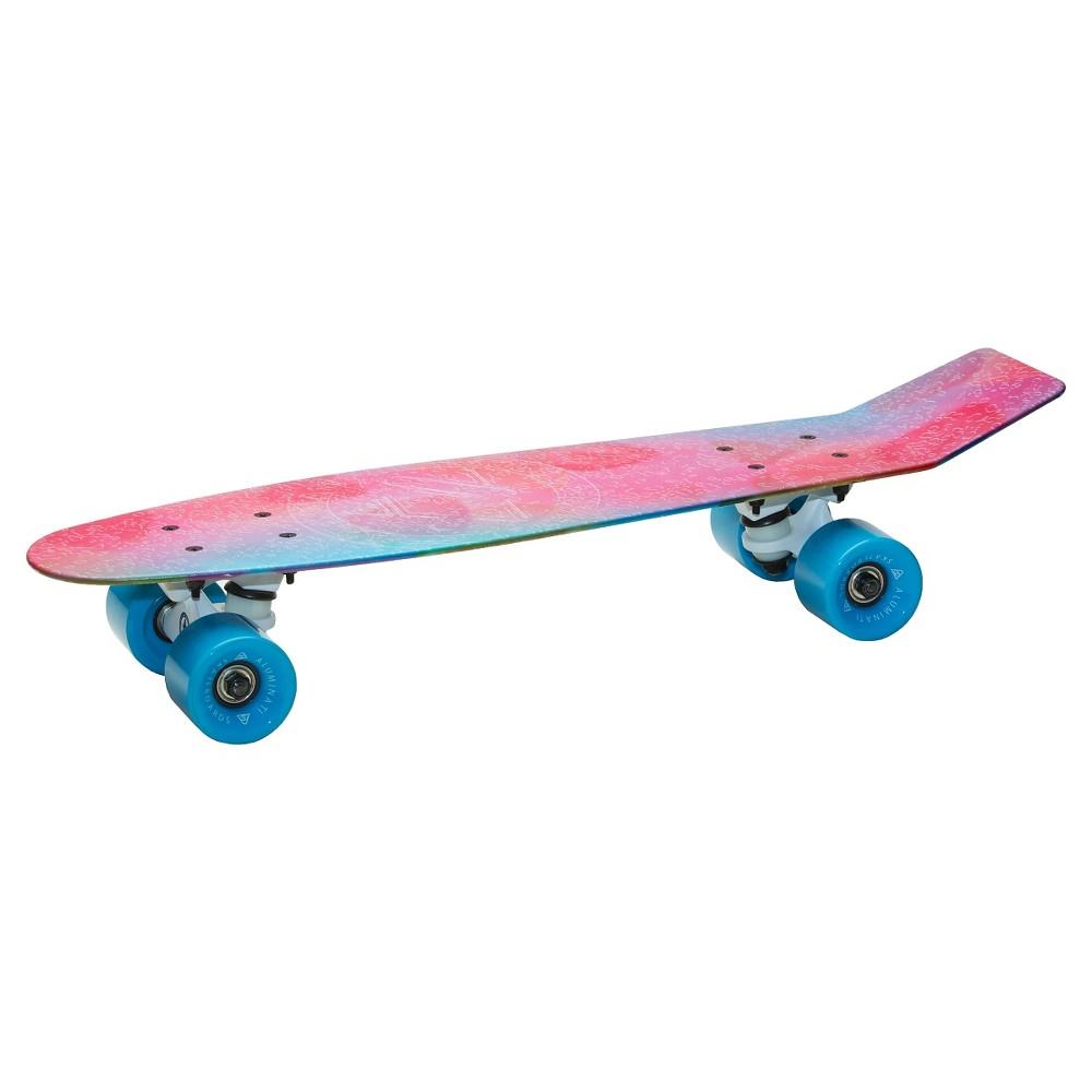 Aluminati 24 Skateboard - Lemonati, Multi-Colored