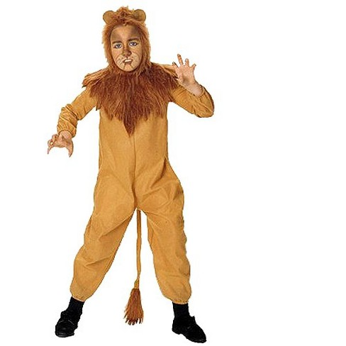The Wizard Of Oz Cowardly Lion Kids Costume Target