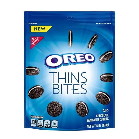 Oreo Thin Bites Chocolate Sandwich Cookies - 6oz - image 1 of 3