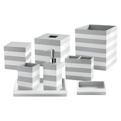 Cabana Stripe Bathroom Accessories